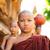 buddhista · kezdő · sétál · délkelet · ázsiai · fiatal - stock fotó © szefei