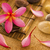 spa · faible · éclairage · fleurs · bois · pétrolières - photo stock © szefei