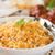 fresco · cozinhado · indiano · arroz · tradicional · comida · indiana - foto stock © szefei