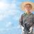 азиатских · фермер · китайский · молодые · завода - Сток-фото © szefei