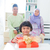 moslim · familie · verjaardag · vrouw · partij · gezicht - stockfoto © szefei