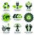 ikon · gyűjtemény · környezetbarát · alternatív · energia · csepp · árnyék - stock fotó © szsz