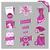 pink labels for women shop stock photo © szsz