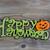 hallowen sign on aged wood stock photo © tab62
