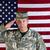 maduro · militar · soldado · aislado · blanco · fondo - foto stock © tab62