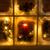 装飾的な · クリスマス · 花輪 · ヤドリギ · 松 · 雪 - ストックフォト © tab62