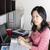 личные · доход · налоговых · зрелый · азиатских · женщины - Сток-фото © tab62