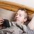 férfi · reggel · portré · fiatalember · otthon · boldog - stock fotó © tab62