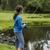 girl fishing lake stock photo © tab62