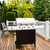 large bbq grill on wooden deck stock photo © tab62