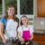 happy mother and daughter making cookies stock photo © tab62