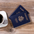 planning travel with passports and dark coffee on rustic wooden stock photo © tab62