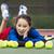 outdoor tennis fun for girl stock photo © tab62