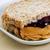 sándwich · manteca · de · cacahuete · atasco · frescos · tostado · pan - foto stock © tab62