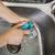 limpieza · plato · trapo · manos · casa - foto stock © tab62