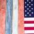 EUA · cores · pintado · ver · bandeira - foto stock © tab62