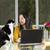 作業 · コンピュータ · 幸せ · 学生 · 技術 - ストックフォト © tab62