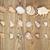 assorted seashells on aged wood stock photo © tab62