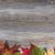 vibrant autumn maple and oak leaves on rustic wood stock photo © tab62