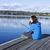 ドック · 湖 · ワシントン · 公共 · 海洋 · ポイント - ストックフォト © tab62