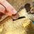 oszczędność · ceny · banku · piggy · palce · monety · wakacje - zdjęcia stock © tab62