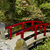 japanese garden with red bridge stock photo © tab62