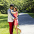 young adult couple hugging each other during an outdoor walk in stock photo © tab62