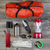 camping gear on rustic wooden boards stock photo © tab62