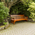secluded wooden bench stock photo © tab62