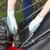 installing catch bag on lawnmower stock photo © tab62