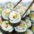 sushi · rotolare · California · bacchette · isolato · bianco - foto d'archivio © tab62