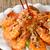 fresco · camarão · branco · prato · verde - foto stock © tab62