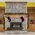 şömine · modern · iç · sıcak · duvar · dizayn - stok fotoğraf © tab62