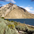 雲 · 湖 · 米国 · 青 · 白 · 地平線 - ストックフォト © tab62