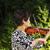 senior woman playing music outdoors stock photo © tab62