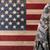 militaire · gezondheidszorg · veteraan · medische · zorg · metafoor · spuit - stockfoto © tab62