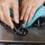 limpieza · marcar · gas · estufa · superior - foto stock © tab62