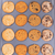 variety of baked cookies on metal baking sheet ready to eat stock photo © tab62