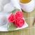 fresh sweet chinese rice balls and tea stock photo © tab62