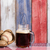 beer and american baseball equipment with faded wooden boards pa stock photo © tab62