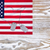 usa flag and military id tags on fade white wood background stock photo © tab62