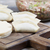 closeup view of chinese dumplings in wrapers stock photo © tab62