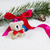 stuffed bear with christmas objects stock photo © tab62
