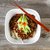 noodle dish with spicy ground beef and vegetables ready to eat stock photo © tab62