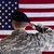 veteran solider saluting the flag of usa flag stock photo © tab62