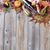 dinner setting for fall season with real gourd decorations and l stock photo © tab62