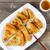 kínai · étel · édes · fanyar · kínai · fehér · tányér - stock fotó © tab62