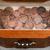 珍しい · ペニー · コイン · 木材 · 極端な - ストックフォト © tab62