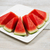 fresh slices of watermelon on plate stock photo © tab62