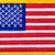 close up of a usa flag patch with yellow trim stock photo © tab62